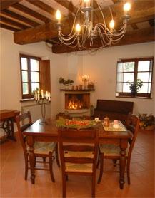 Granaio, sala da pranzo