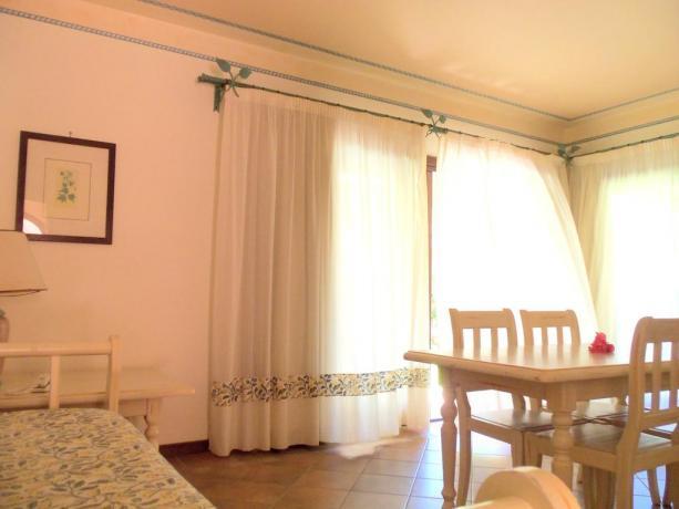 Appartamento albergo con soggiorno ad Arzachena