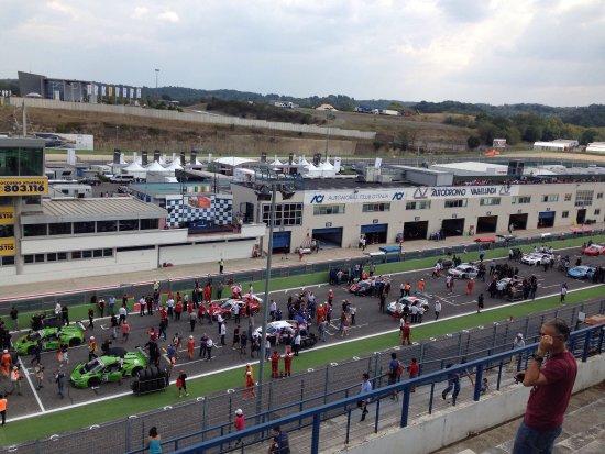 Partenza gara Autodromo Vallelunga