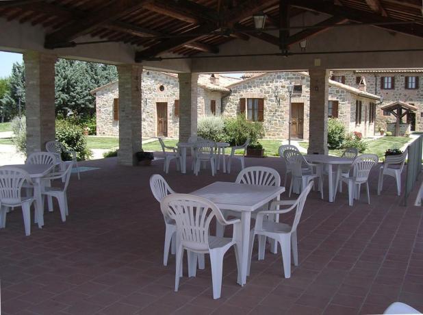 Casale vacanze in famiglia con Wi-Fi Ospedalicchio-Umbria