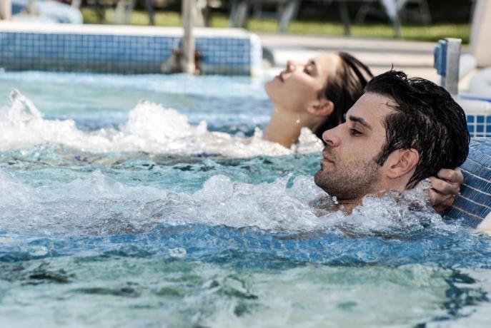piscina interna Terme Albano Padova