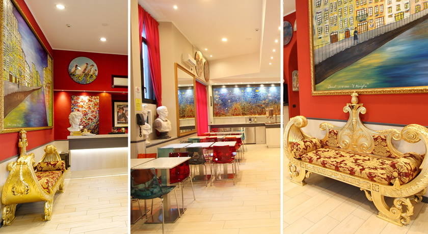 Interni hotel a Milano in stile contemporaneo