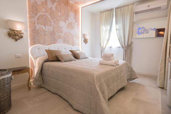 Camera matrimoniale con aria condizionata Assisi