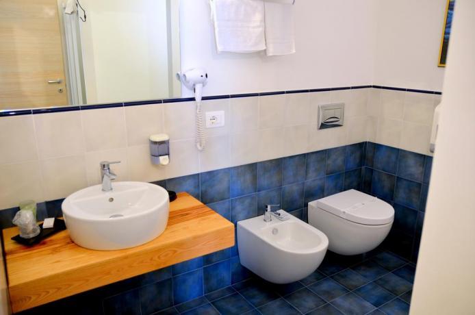 Camera bagno privato B&B Santa Venerina