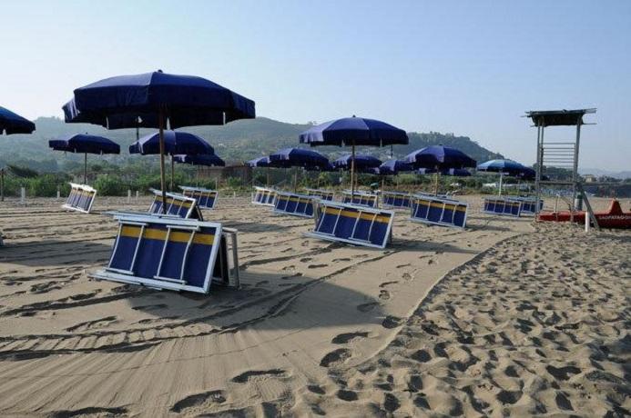 Villaggio sulla spiaggia di Agropoli