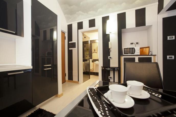 Cucina accessoriatanel B&B Piazza Maggiore