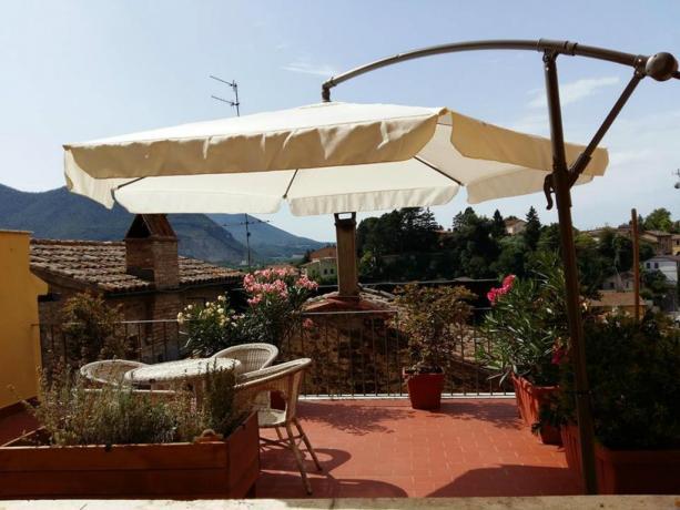 B&B terrazza con vista Acquasparta