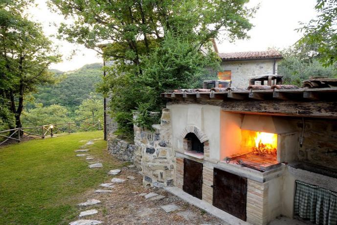 Agriturismo in Umbria con barbecue esterno