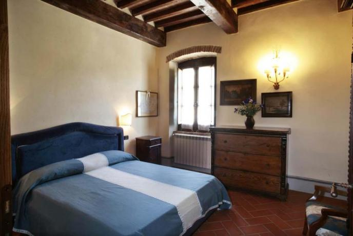casale vacanze appartamento-Primula 3persone Capolana-Arezzo