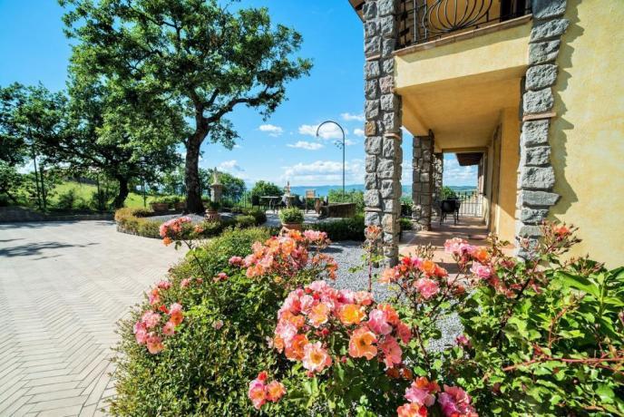 Villa esclusiva gruppi di 20 a Montefiascone