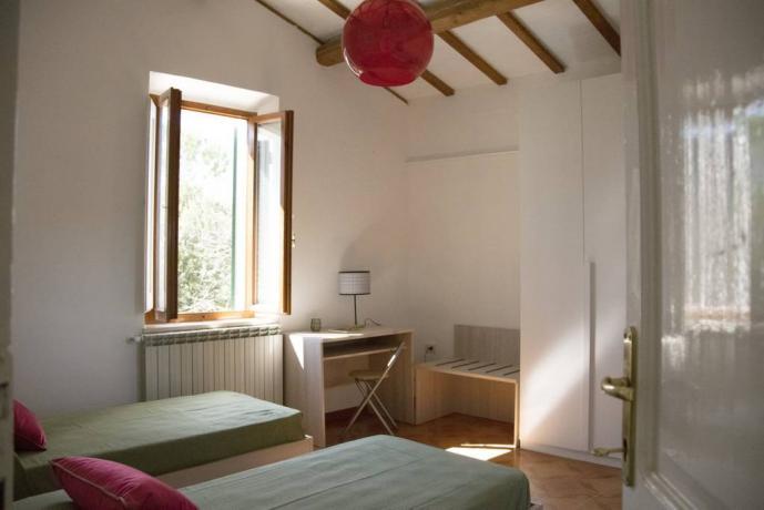 Camera doppia in casale ColleChiaro a Gualdo Cattaneo