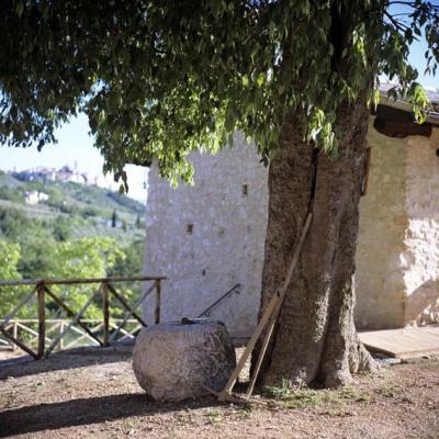 Appartamenti vacanza vista panoramica a Trevi