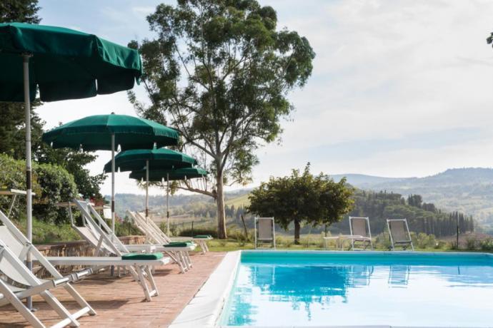 Agriturismo a san gimignano con piscina e ristorante vicino firenze e siena in toscana - Agriturismo san gimignano con piscina ...