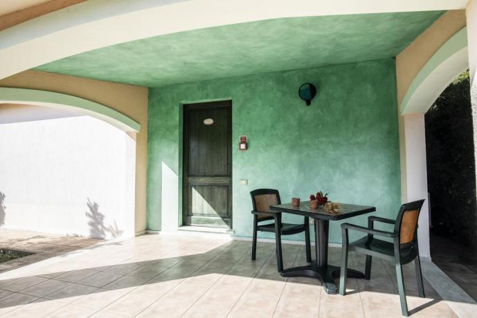 Veranda camera da letto per 2-persone in Sardegna
