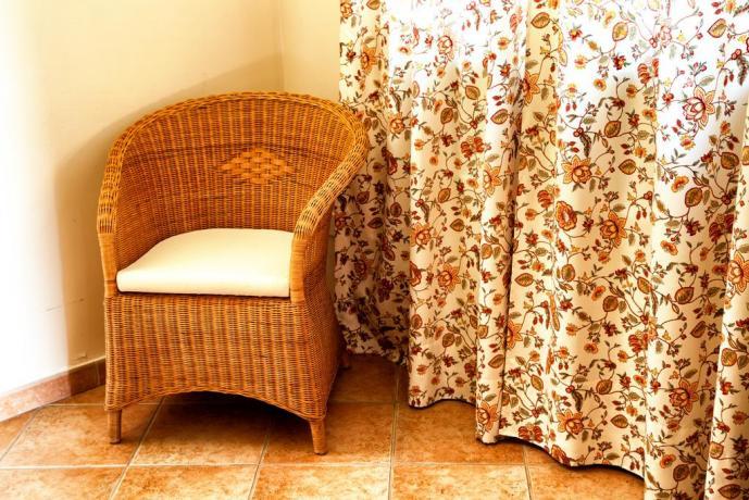 Sedia di Vimini, appartamento vacanza Umbria-Centrale