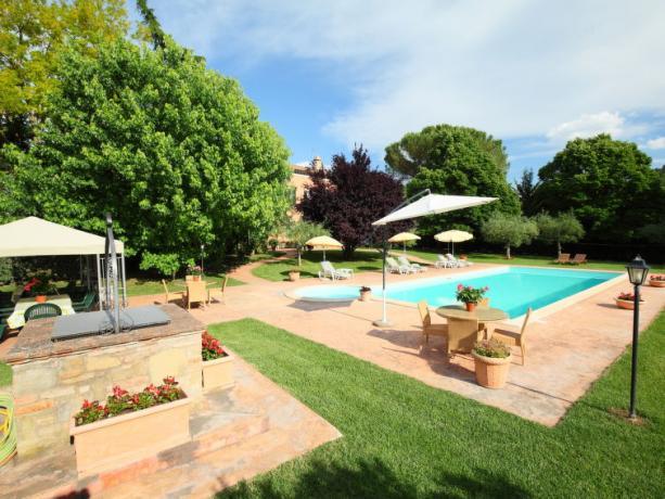 Villa Vacanze in Umbria con piscina
