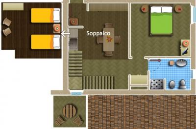 Planimetria Appartamento Giallo