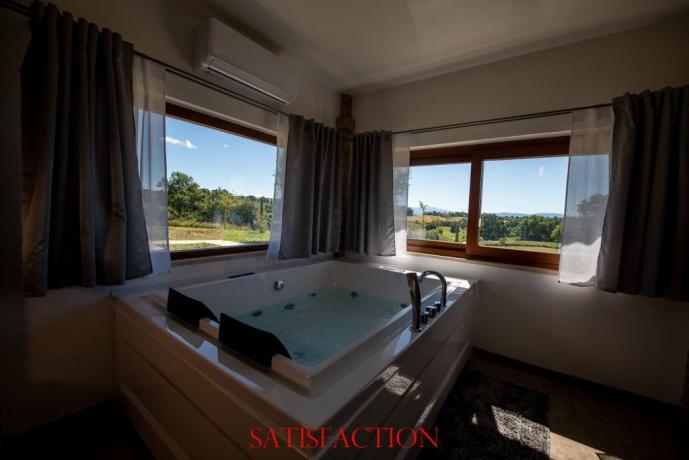 suite satisfaction vasca idromassaggio doppia
