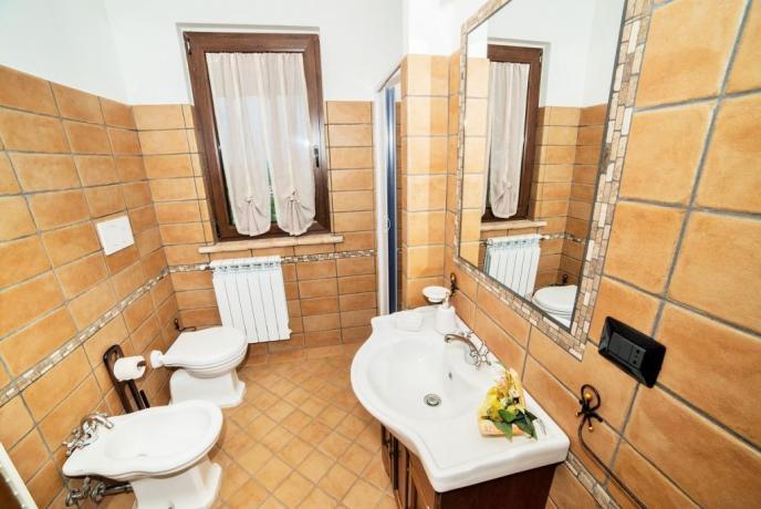 Appartamento Rosso con 3 camere 2 bagni