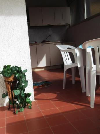 Terrazzo in appartamento Campeggio a Palinuro