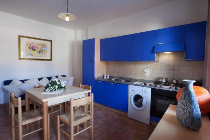 Appartamento Gli Oleandri a Orosei con lavatrice