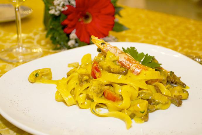 Ristorante con piatti della tradizione siciliana
