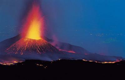 Escursioni sull'Etna, eruzione