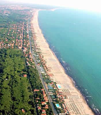 Spiaggia e mare Forte dei Marmi