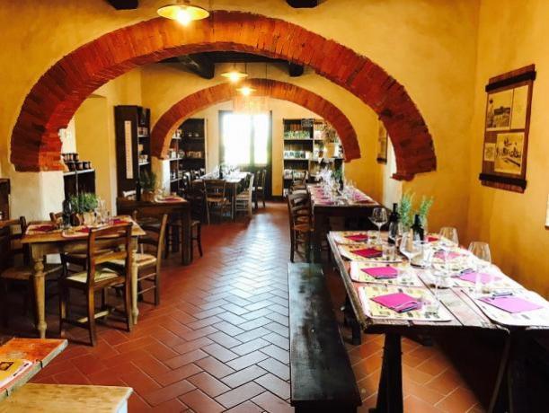 Ristorante del Residence, cucina km0, Toscana, Alta Maremma