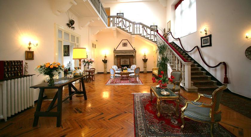 Hotel il Castello: Hall e sala lettura