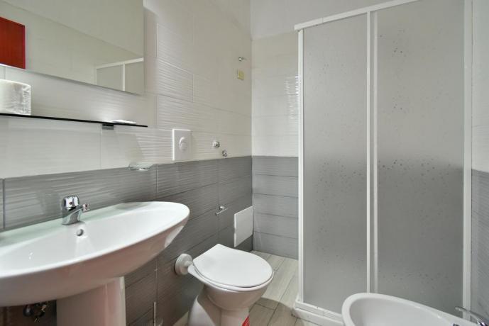 Bagno con box doccia Hotel vicino Roccaraso