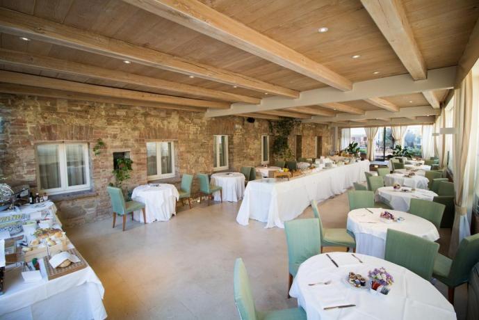 Colazione buffet Resort le Tre Vaselle