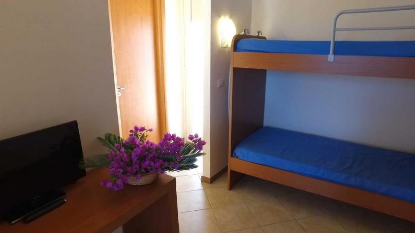 Camere per Famiglie in Villaggio in Calabria