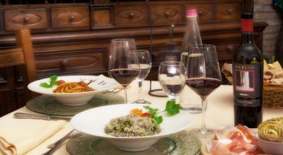 Raffinato ristorante tra Umbria e Toscana