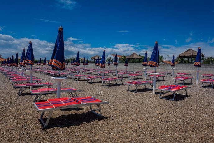 Camping con Spiaggia attrezzata in Calabria