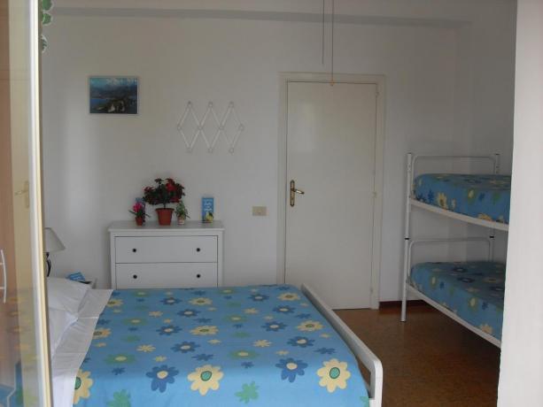 Camera quadrupla per famiglia  villaggio a Palinuro