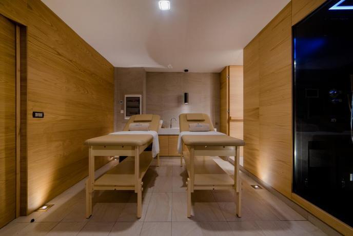 Massaggi di coppia SPA privata hotel4stelle Baia-Domizia