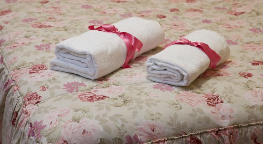 Biancheria da bagno e camera Appartamento I Papaveri