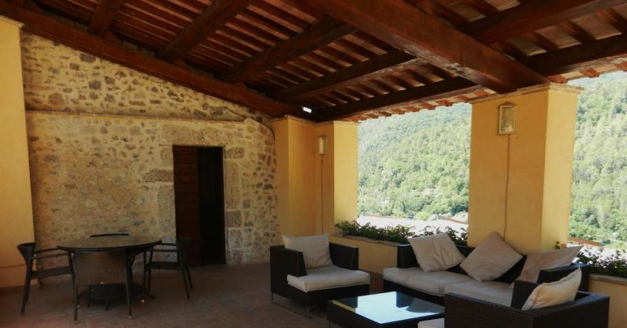 Ideale per famigle Salotto agriturismo in Umbria