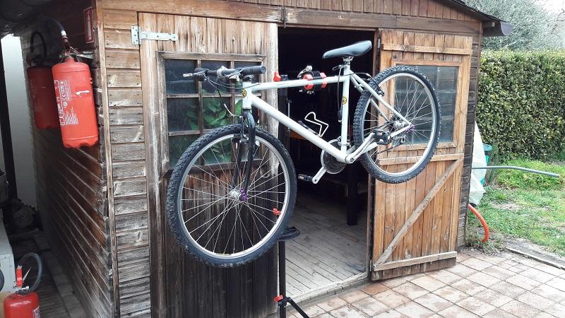 biciclette, officina, riparazioni in agriturismo, cicloturismo