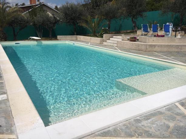 Splendida villa vacanze con piscina a Perugia