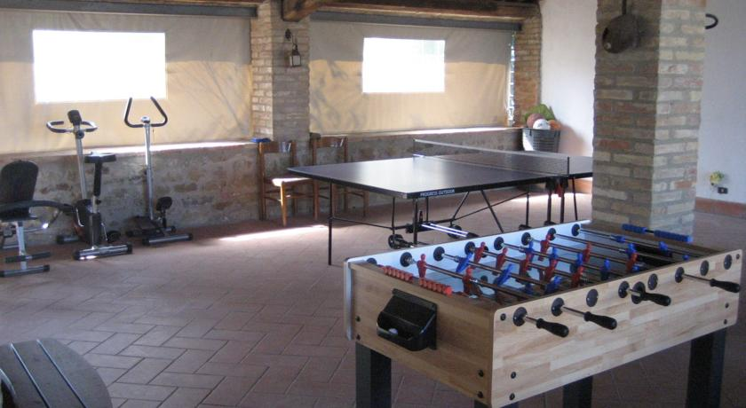 Agriturismo a Perugia: ping pong, relax e palestra