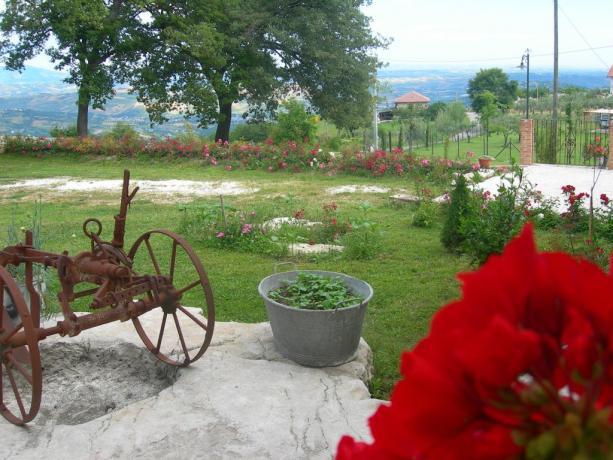 Giardino panoramico sul Parco N.le della Majella Abruzzo