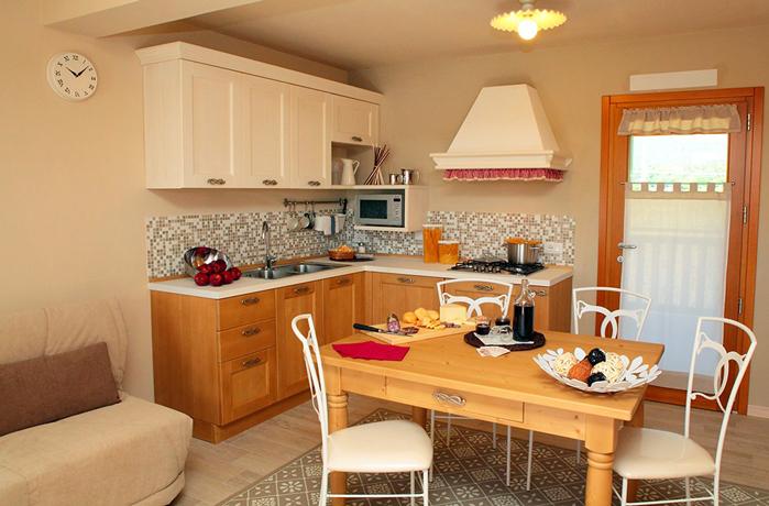 Appartamento in Friuli con cucina + sala pranzo