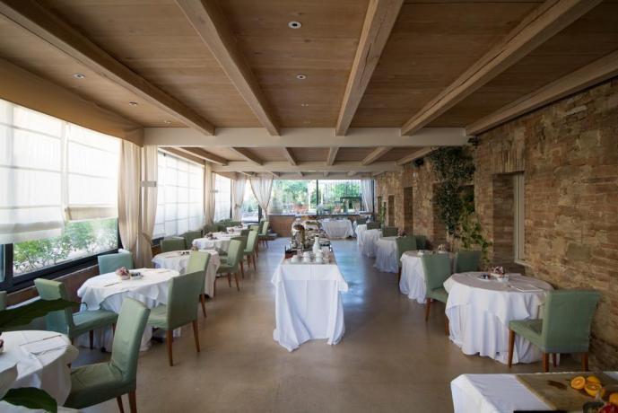Colazione a buffet Resort le Tre Vaselle