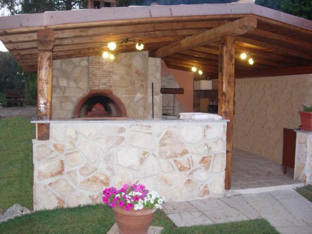 Pizzeria forno-a-legna esterno hotel3stelle Anzio-Lazio