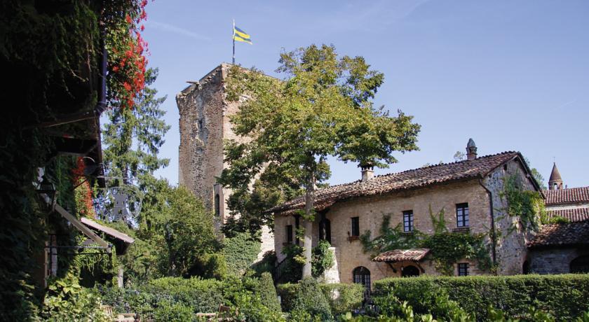 L'antica torre di guardia del Castello