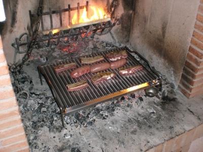 Griglia per cotture in acciaio inox produzione vendita barbecue griglie fioriere treviso - Piastra in acciaio inox per cucinare ...