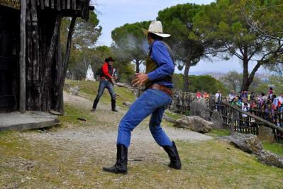 Duello Far West parco per bambini a Perugia