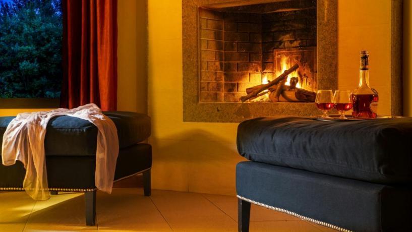 Suite con Camino e idromassaggio